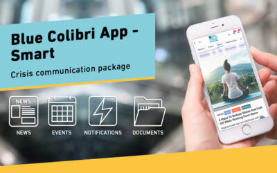We help company crisis communication with a free app