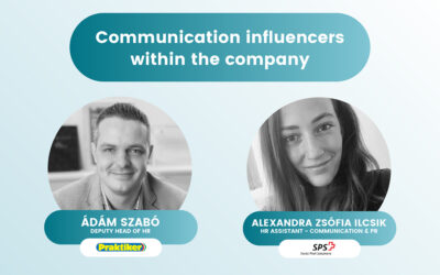 Communication influencers within the company